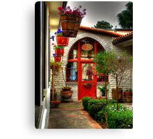 Boutique in Carmel by the Sea Canvas Print