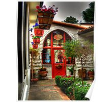 Boutique in Carmel by the Sea Poster