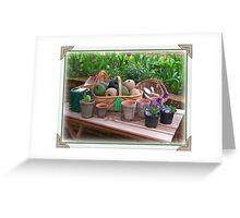Garden Shop Greeting Card