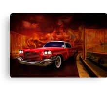 Christine - 1960 Chrysler 300 Canvas Print