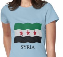Syrian Republic 1932-59 1961-63 Womens Fitted T-Shirt