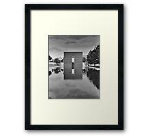 OKC Memorial 9:01 Framed Print