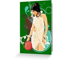 INDIAN BEAUTY-3 Greeting Card