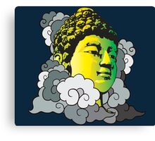 Buddha in the Clouds Canvas Print