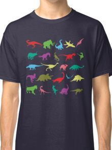 Colorful Mini Dinosaur  Classic T-Shirt