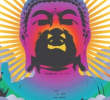 Rainbow Buddha Sticker