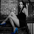 Blue suede shoes by mephotography