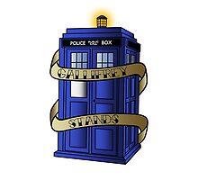 TARDIS - Gallifrey Stands! by MikeTheGinger94