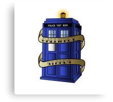 TARDIS - Gallifrey Stands! Canvas Print
