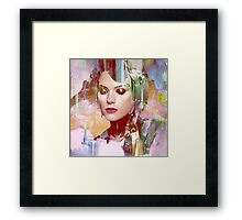 Vengeance of a betrayed woman Framed Print