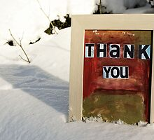 Thank You by Bella  Cirovic