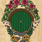 Hobbit Hole by Courtney James