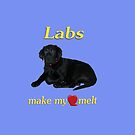 Labs Make My Heart Melt by Kathy Weaver
