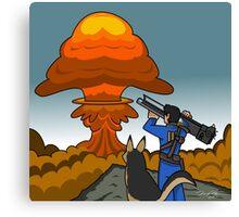 Atomb Bomb Baby Canvas Print