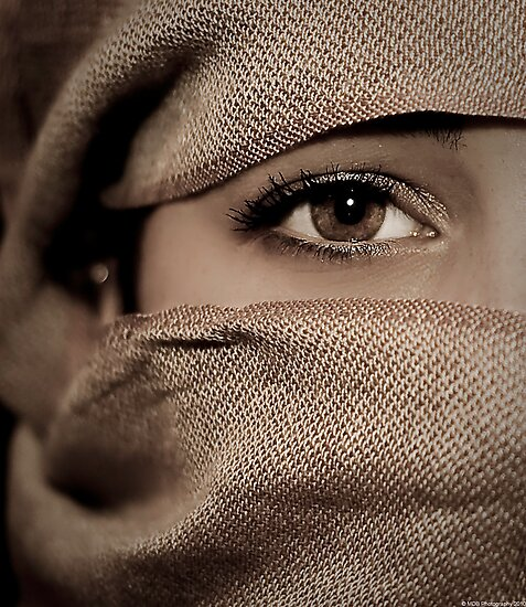 Brown Eye Blue by Mark David Barrington