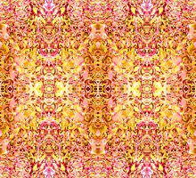 Rose-Golden Symmetrical Abstractive Dream by FireFairy