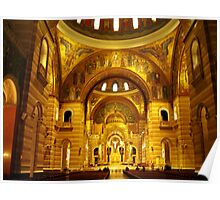 Inside the Cathedral Basilica of St. Louis Poster