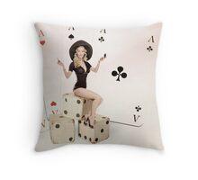 Love is a Gamble Throw Pillow