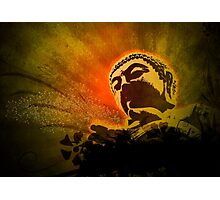 Buddha Bubbles Photographic Print