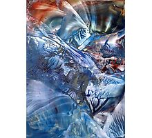 Magnetic midnight bridging worlds of time and space Photographic Print