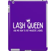 Lash Queen - Ask me how to get majestic lashes! Younique Inspired iPad Case/Skin
