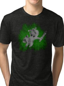 The Minish Brush Green Tri-blend T-Shirt