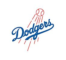 Dodgers Photographic Print