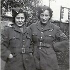 1940 Wife & friend (WARBIRDS) by Woodie