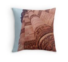 Qutb Minar Throw Pillow