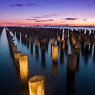 Princess Pier - Port Melbourne by Timo Balk