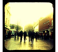 On their way to christmas shopping heaven... Photographic Print