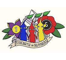 Pikmin - Strength in Numbers Photographic Print