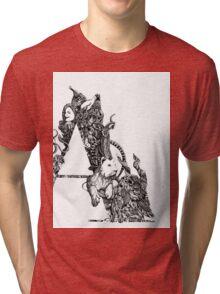 """""""A'' Tri-blend T-Shirt"""
