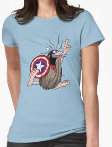 American Caveman Womens Fitted T-Shirt