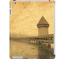 Golden Kapellbrucke in Lucerne iPad Case/Skin