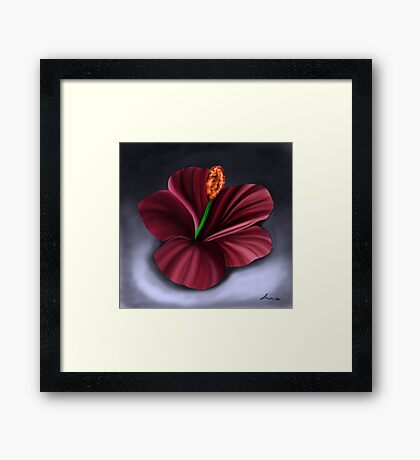 Best Fantasy Flower 4 Framed Print