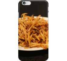 Spicy Bean Sprouts iPhone Case/Skin
