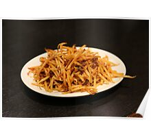 Spicy Bean Sprouts Poster