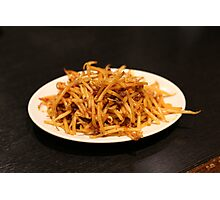 Spicy Bean Sprouts Photographic Print