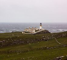 Neist Point Lighthouse by Lynne Morris