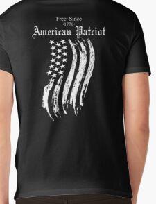 Free Since 1776 – American Patriot Mens V-Neck T-Shirt