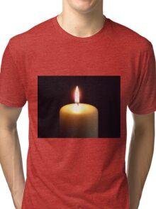 Candle flame..... Tri-blend T-Shirt
