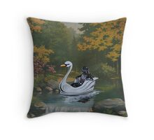 Alone, With his Thoughts Throw Pillow
