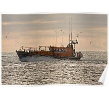 The Newcastle (county Down) Lifeboat Poster