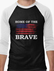 Free Since 1776 – American Patriot Men's Baseball ¾ T-Shirt