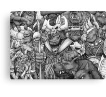 Orc Army Canvas Print