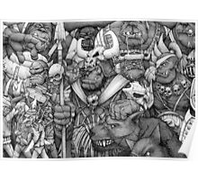 Orc Army Poster