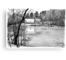 Coles Pond - West Boxford, Massachusetts Metal Print