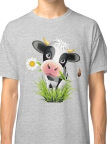 Cute cow with pretty eyes Classic T-Shirt