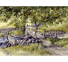 Bridge Near Scafell Pike, Lake District Photographic Print